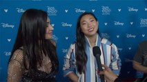D23 Expo 2019: Cassie Steele And Awkwafina