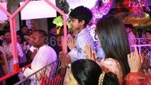 Shilpa Shetty with family and Ekta Kapoor At Shree Krishna Janmashtami Festival At Iskcon Juhu