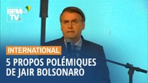 Retour sur 5 propos polémiques de Jair Bolsonaro