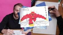 De la fille dont il était amoureux au collège au super-pouvoir qu'il rêverait d'avoir, Philippe Valette répond en dessin à nos questions dans son interview Papier Crayon