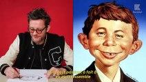 Tu dessinais quoi quand t'étais petit ? C'est qui ton super-héros préféré ? Tu ferais quoi si tu n'étais pas un artiste ?  L'interview papier-crayon de Jamie Hewlett, dessinateur de Gorillaz