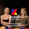 Supercut spécial super-héros : Sophie Turner & Jessica Chastain