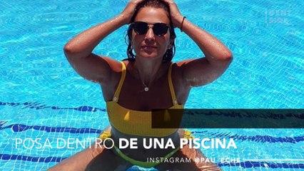 Paula Echevarría sube una imagen en bikini y todos se hacen la misma pregunta