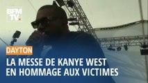 Fusillade de Dayton : La messe de Kanye West en hommage aux victimes