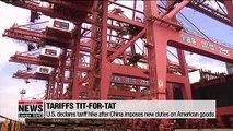 Asian stocks fall on Monday over escalating U.S.-China trade war