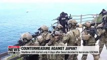 East Sea drill scaled up in light of trade row with Tokyo, threats from China and Russia