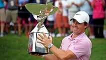 Rory McIlroy triomphe à Atlanta et soulève sa deuxième FedEx Cup