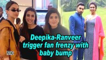 Deepika-Ranveer trigger fan frenzy with baby bump speculations