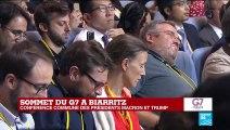 REPLAY - Emmanuel Macron s'exprime lors de la clôture du G7 à Biarritz