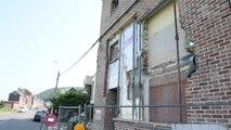 Wandre : une maison vandalisée à la pelleteuse
