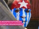 Les manifestations violentes se multiplient en papouasie