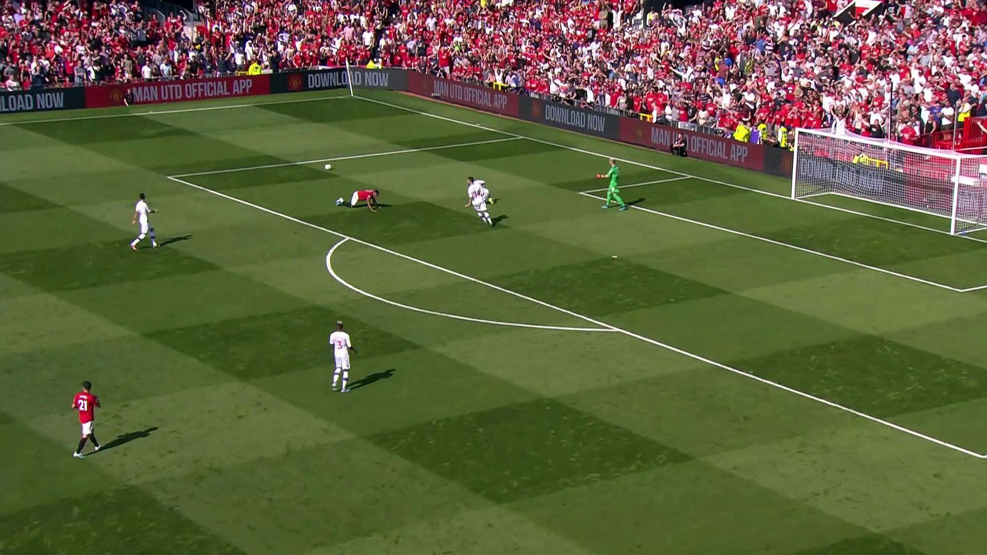 3. Hafta / Manchester United - Crystal Palace: 1-2 (Özet)