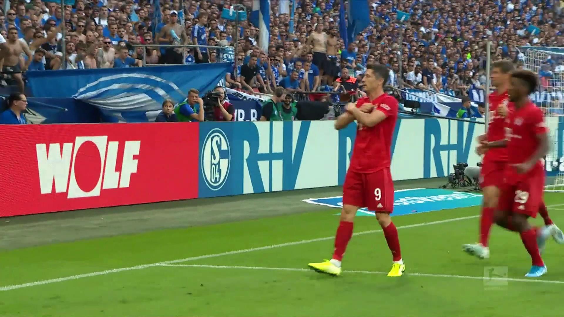 2. Hafta / Schalke 04 - Bayern Münih: 0-3 (Özet)