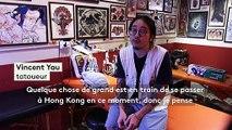 Hong Kong : des tatouages aux motifs rebelles pour se souvenir d'un mouvement historique