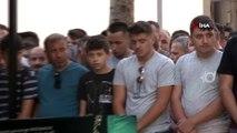 Ümraniye'de katliam yapan genç ile annesi ve kardeşinin cenazesi toprağa verildi