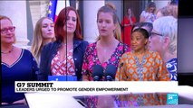 Gender equality is a key issue at the G7 - Phumzile Mlambo-Ngucka, UN Women Director on France 24