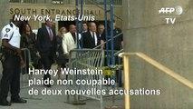 Weinstein quitte le tribunal après avoir plaidé non coupable de nouvelles charges