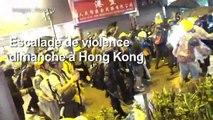 Escalade à Hong Kong: la police tire avec une arme à feu, une pr