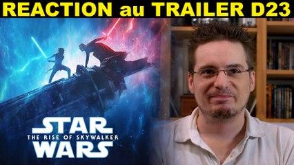 REACTION au D23 SPECIAL LOOK de Star Wars 9