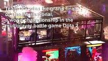 Winning team pockets $15 mn in final of eSports spectacular