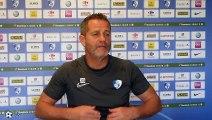 """Philippe Hinschberger (GF38) :  """"Une équipe compétitive à Niort capable d'aller chercher une qualification"""""""