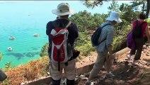 Finistère : la crique de l'île Vierge, un lieu paradisiaque devenue incontournable