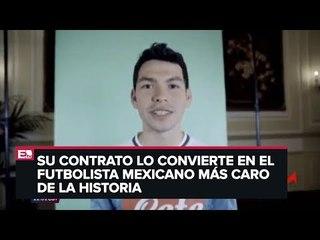 Hirving Lozano hace historia ya es jugador del Napoli