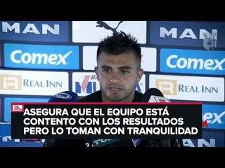 Triverio asegura que el Querétaro seguirá trabajando por los triunfos