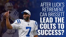 Andrew Luck is retired... can Jacoby Brissett lead the Colts to success?