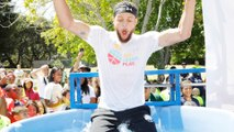 Stephen Curry Crashes Block Party To Go One-On-One With Local's & Gets Scored On During Pick Up Game