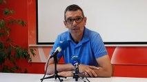 Jean-Louis Garcia attend une réaction de ses joueurs après la défaite à Sochaux 3-0