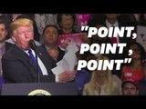 Ne lisez JAMAIS vos fiches comme l'a fait Donald Trump en plein meeting