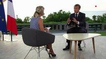 """""""Un sommet utile"""" : après le G7, regardez l'intégralité de l'interview d'Emmanuel Macron sur France 2"""
