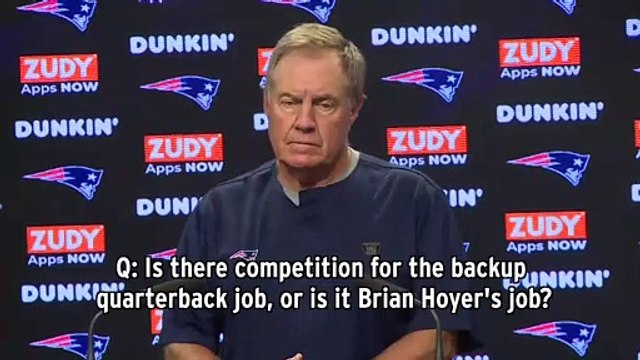 Bill Belichick Gives Grumpy Responses About Andrew Luck, Patriots Backup QB Competition