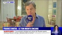 """Macron-Bolsonaro: """"La première attaque est venue de l'Élysée qui a dit que Bolsonaro était un menteur"""" (Ambassadeur du Brésil en France)"""