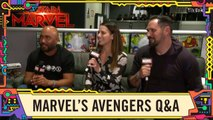 Behind the Scenes of the video game Marvel's Avengers LIVE - SDCC 2019-
