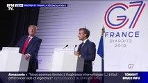 Emmanuel Macron et Donald Trump, la réconciliation ?