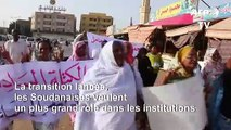 Les Soudanaises demandent une participation égale des femmes aux institutions de transition
