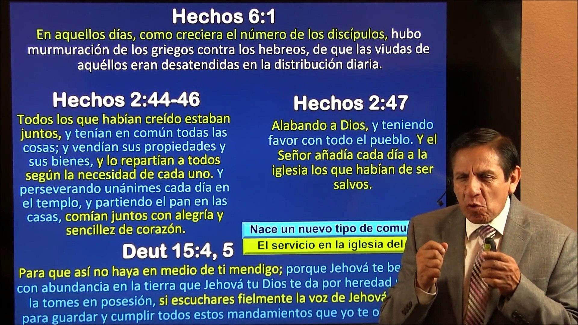 Lección 9: El servicio en la iglesia del Nuevo Testamento - Escuela sabatica 2000