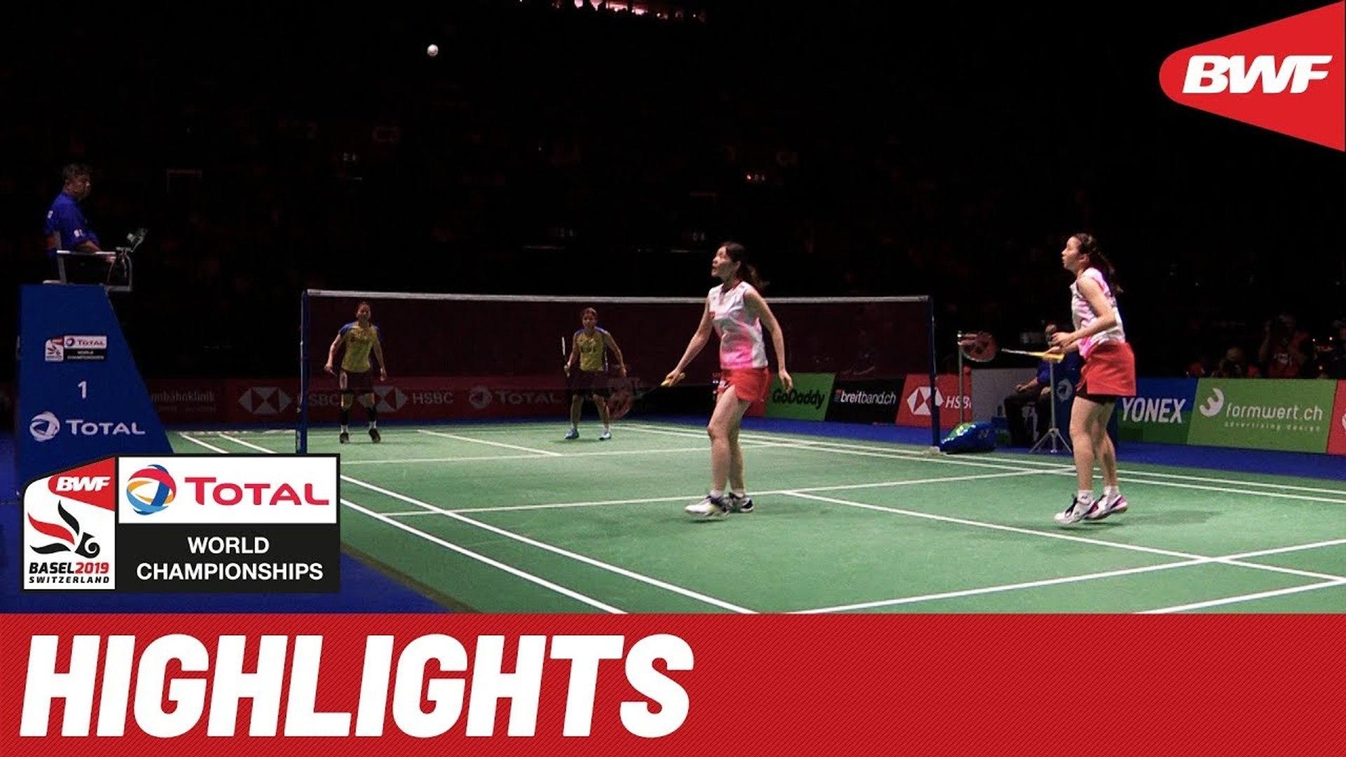 TOTAL BWF World Championships 2019 - Semifinals WD Highlights - BWF 2019