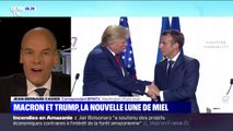 L'unité est-elle retrouvée entre Emmanuel Macron et Donald Trump?
