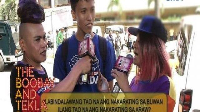 "TBATS: ""Ilan ang paa ng ten-wheeler truck?"" | TBATS on the street"