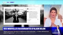 """Alain Delon va """"plus que mieux"""", sa fille Anouchka rassure et pousse un coup de gueule"""