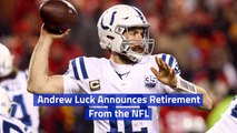 Andrew Luck Says No More To The NFL