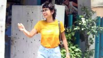 Watch Aamir Khan wife Kiran Rao Spotted at BBlunt Salon Khar
