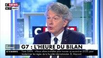 Thierry Breton : «Ce G7 marque un véritable tournant, il a su s'adapter à cette modernité du monde»