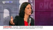 """Manon Aubry juge """"peu élégantes"""" les remarques de Jair Bolsonaro sur Brigitte Macron"""