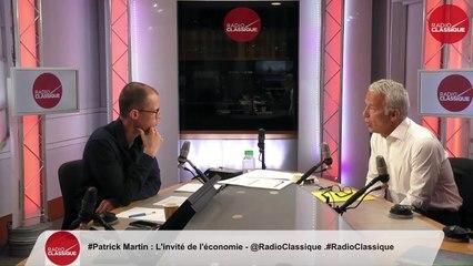 """""""Si un krach se produit, et il finira par se produire, la France n'a pas de réserves suffisantes"""" Patrick Martin (27/08/2019)"""