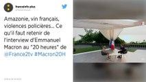G7, Gilets jaunes, réforme des retraites… Ce qu'il faut retenir de l'intervention d'Emmanuel Macron