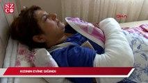 Kayınbiraderinin baltalı saldırısında yaralanan kadın, evine gidemiyor